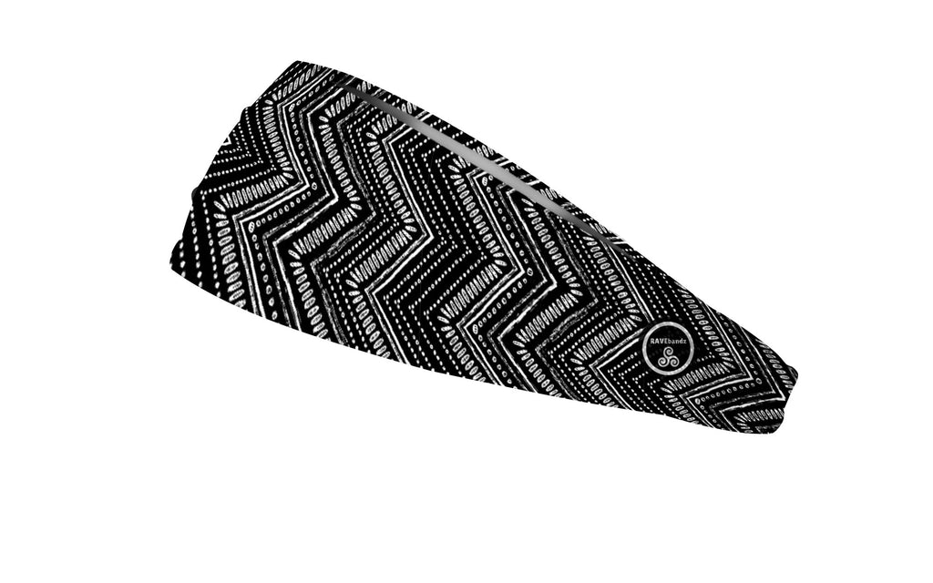 RAVEbandz The Pro - Wide Stretch Headband (Apache)