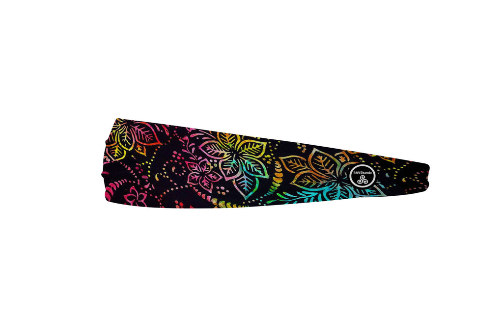 RAVEbandz The Pro - Wide Stretch Headband (Bahama Mama)
