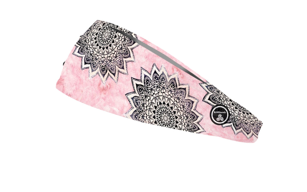 RAVEbandz The Pro - Wide Stretch Headband (Boho)