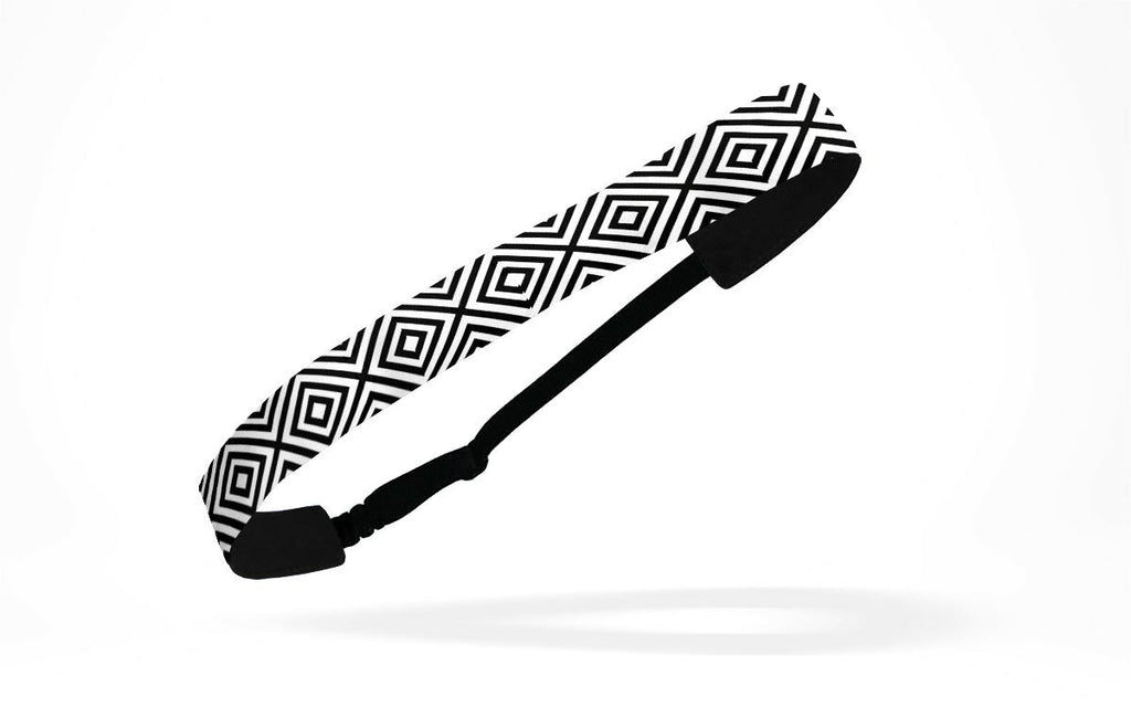 RAVEbandz Adjustable Headbands - (Diamonds At Dusk)