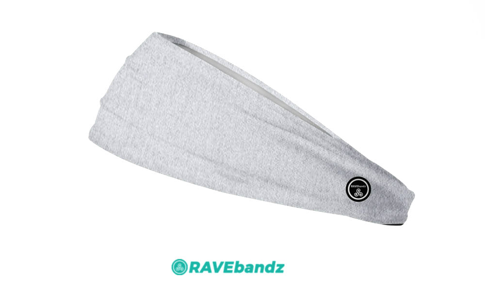 RAVEbandz The Pro - Wide Stretch Headband (Divine)