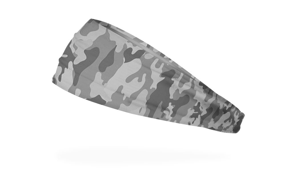 RAVEbandz The Pro - Wide Stretch Headband (Defender - Grey)