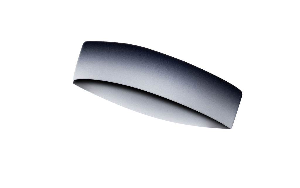 RAVEbandz CHAMP No Slip Headband - Grey Ombre
