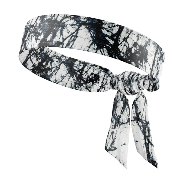 RAVEbandz The All Star Tie Back Headbands (Ink Blot)