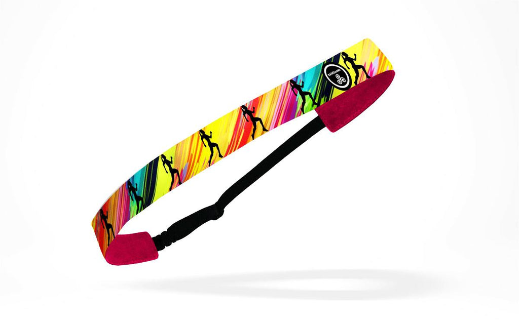 RAVEbandz Adjustable Headbands - (Just Run)