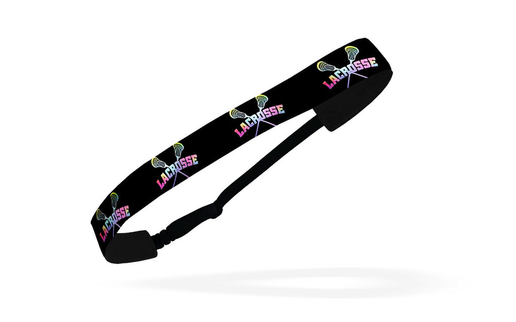 RAVEbandz Adjustable Headbands - (Tie Dye LAX)