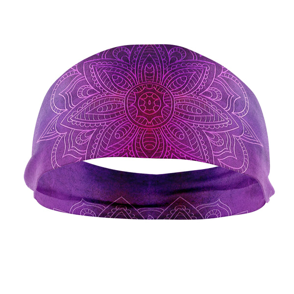 RAVEbandz The Pro - Wide Stretch Headband (Harmonious)