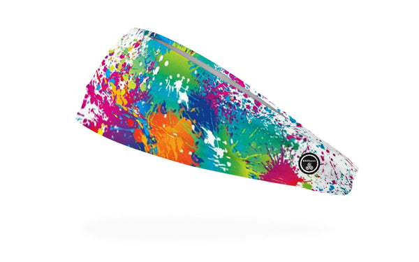 RAVEbandz The Pro - Wide Stretch Headband (Splat)