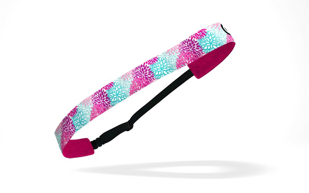 RAVEbandz Adjustable Headbands - (Pink Dahlia)