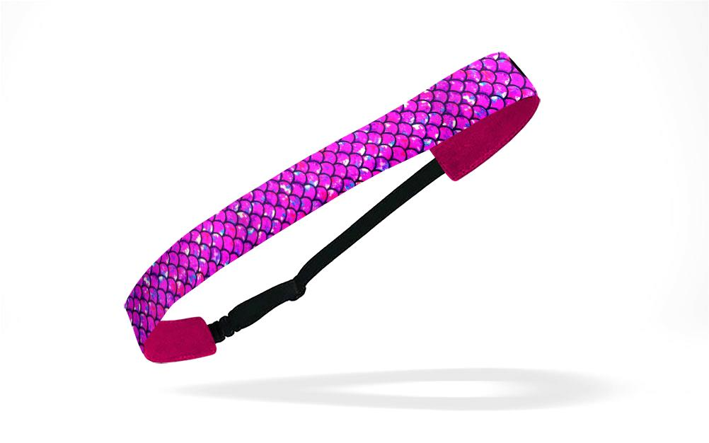 RAVEbandz Adjustable Headbands - (Mermaid - Pink)