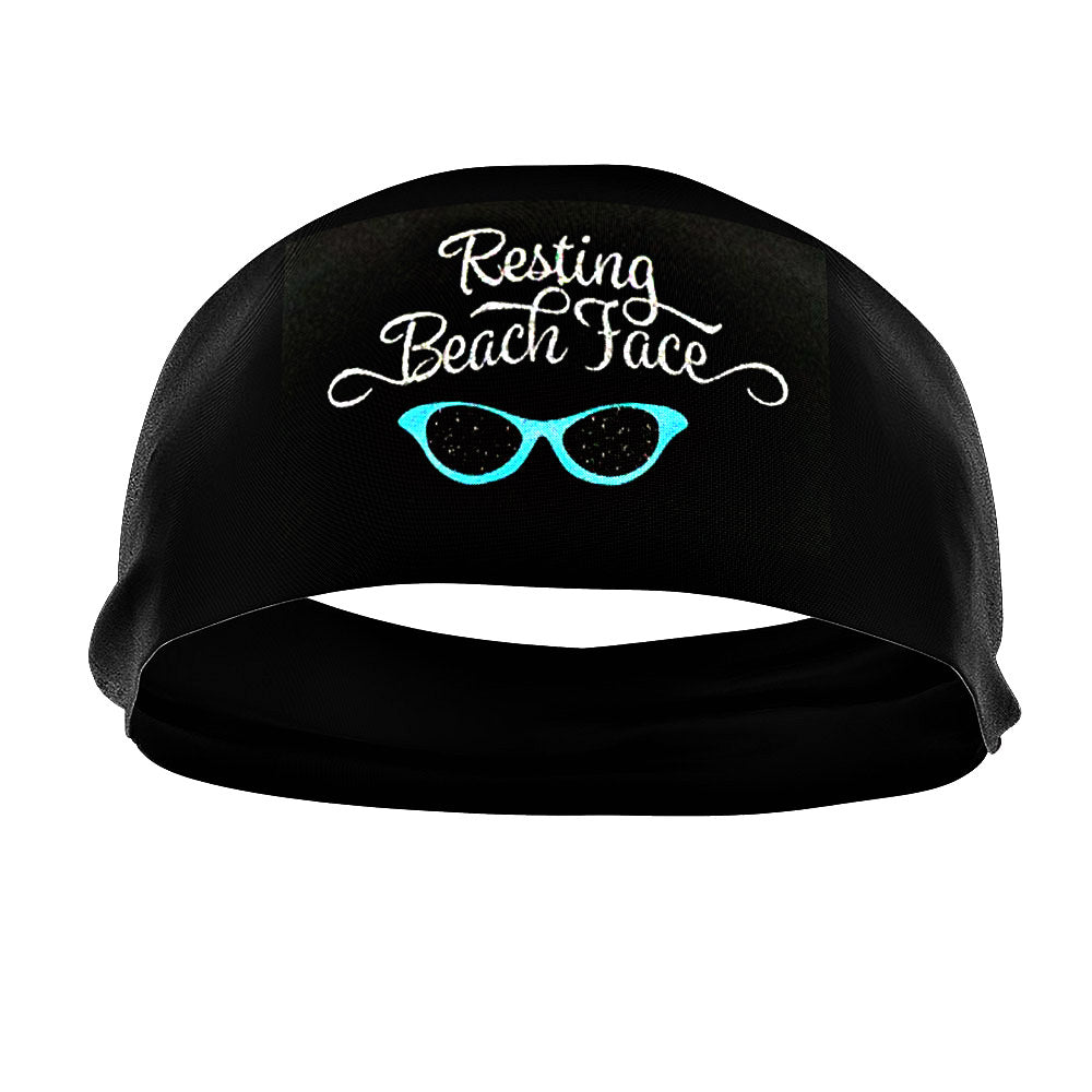 RAVEbandz The Pro - Slogans Headband (Resting Beach Face)