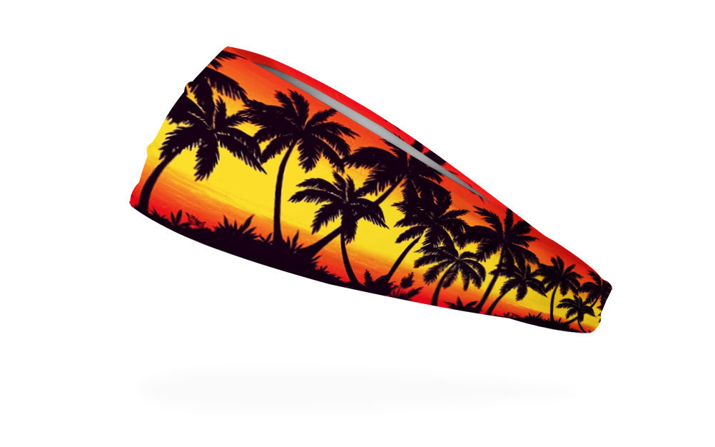 RAVEbandz The Pro - Wide Stretch Headband (Summer Lovin)