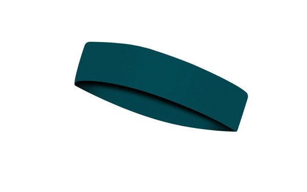 RAVEbandz CHAMP  No Slip Headband -  Solid Dark Teal