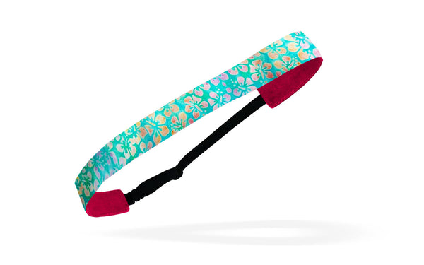 RAVEbandz Adjustable Headbands  - (Watercolor Hibiscus)