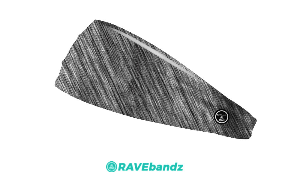 RAVEbandz The Pro - Wide Stretch Headband (Weathered)