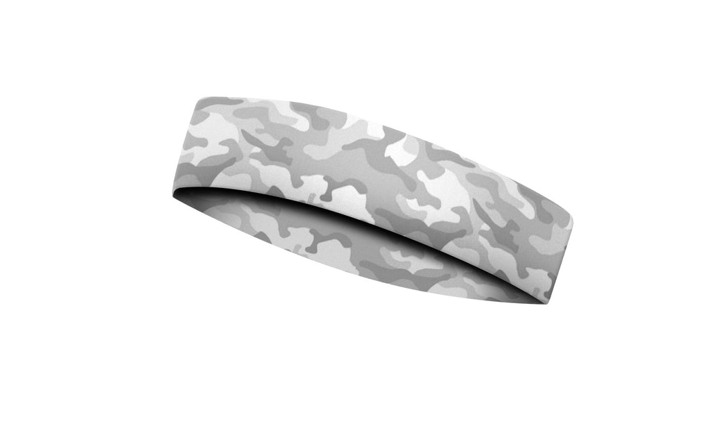 RAVEbandz CHAMP No Slip Headband - Defender - White