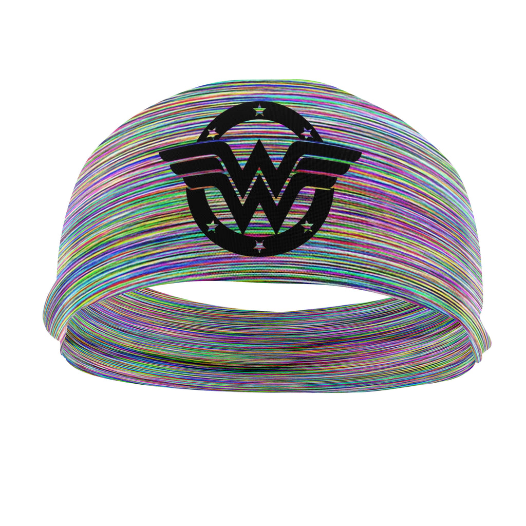 RAVEbandz The Pro - Wide Stretch Headband (Wonder Woman 84)