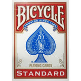 AJ Magic Cards Bicycle cards Poker size - (Red)