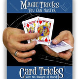 AJ Magic DVD Magic Tricks You Can Master: Card Tricks with No Sleight of Hand