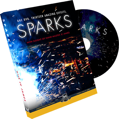 JC James DVD Sparks by JC James - COMING SOON