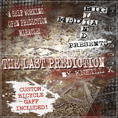 Kneill X and Big Blind Media Trick The Last Prediction (DVD and Gimmick) by Kneill X and Big Blind Media