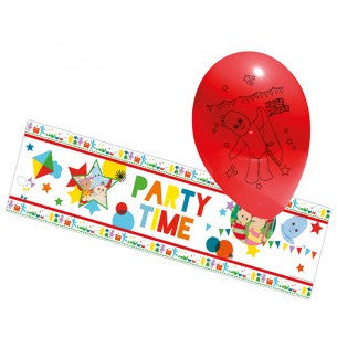 In the Night Garden - Party Balloons and Foil Banner - Party Republic