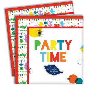 In the Night Garden - Paper Napkins - Party Republic