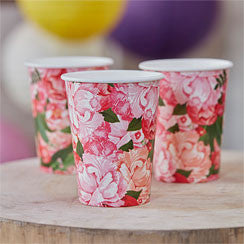 Boho Wedding Paper Cups - Party Republic