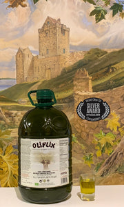 Oliflix Extra Virgin Olive Oil 5 Liter Bottle