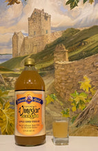 Load image into Gallery viewer, Solana Gold Raw Apple Cider Vinegar 1 quart bottle