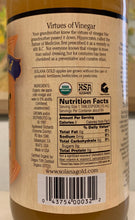Load image into Gallery viewer, Solana Gold Raw Apple Cider Vinegar Nutritional Information