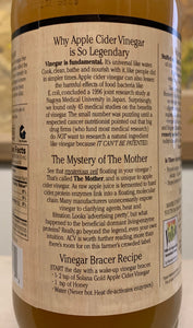 Why apple cider is beneficial label