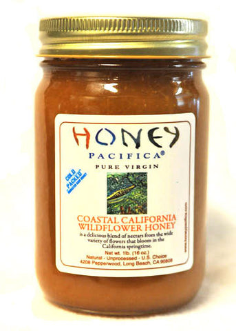 Cold Packed Coastal California Wildflower Honey