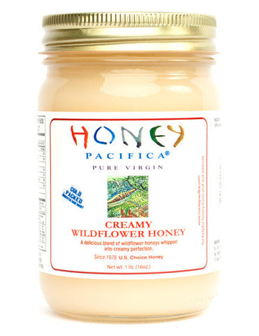 Cold Packed Creamy Wildflower Honey