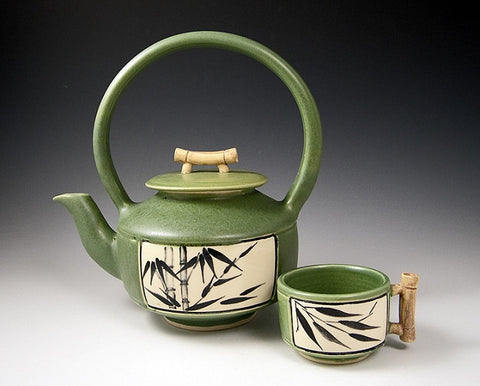 Bamboo Teapot - Eclipse Gallery