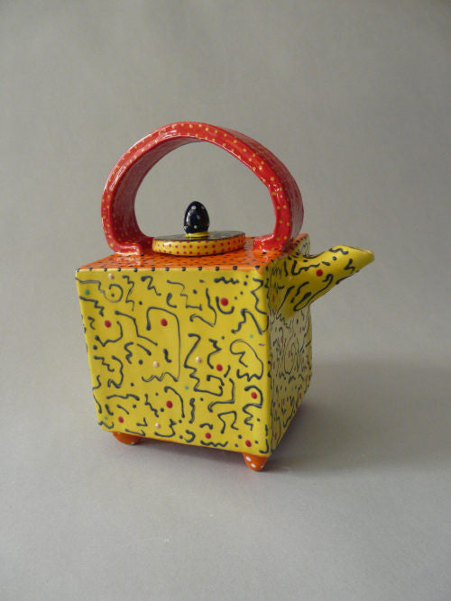 Mello Yellow Vivid Teapot