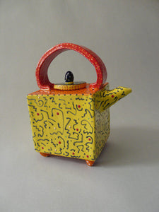 Mello Yellow Vivid Teapot - Eclipse Gallery