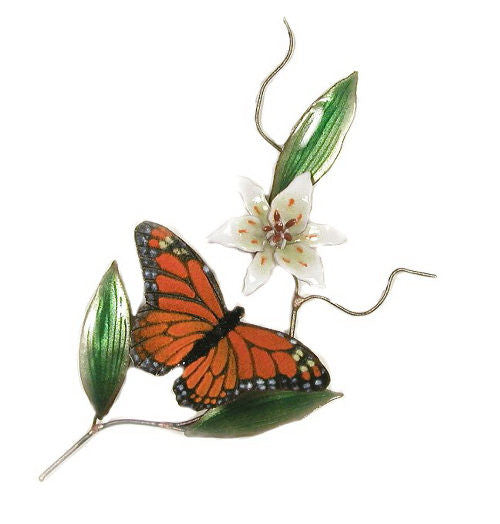 Butterfly Monarch Wall Decoration