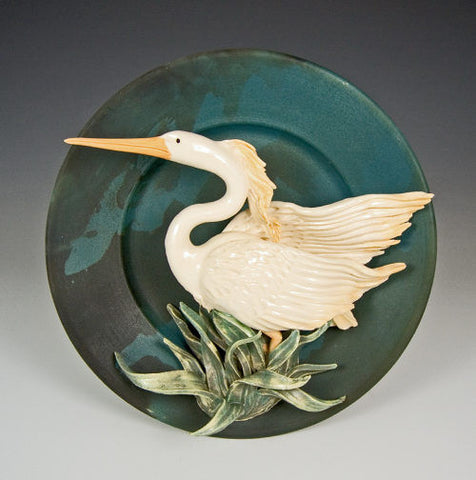 Heron Plate - Eclipse Gallery