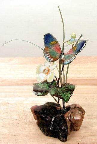 Butterfly and Flowers - Eclipse Gallery