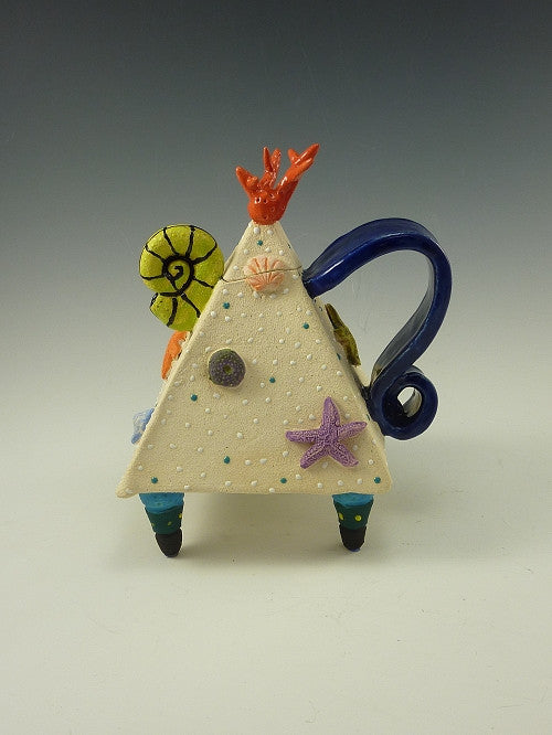 Limited Edition Seaside Teapot - Eclipse Gallery
