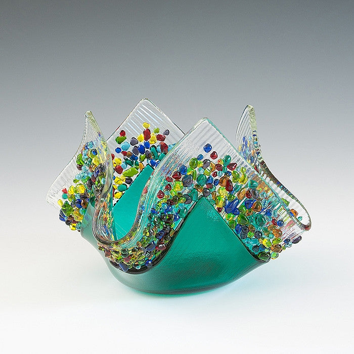 Kiln Formed Glass Votives III