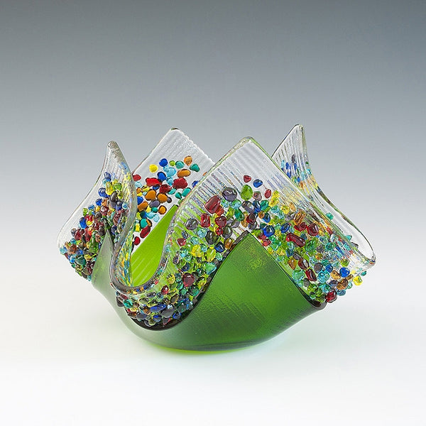 Kiln Formed Glass Votives II - Eclipse Gallery