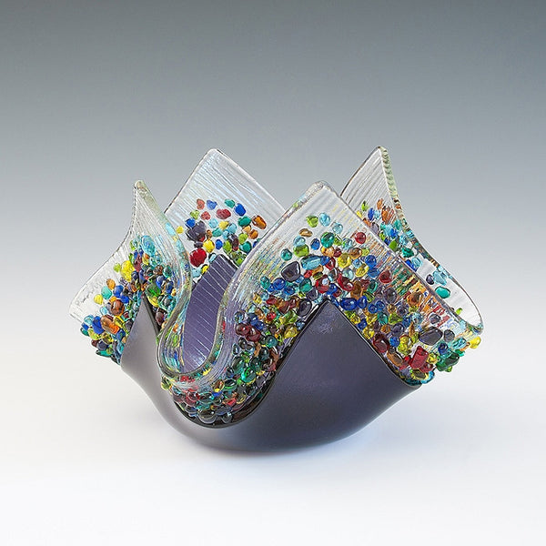 Kiln Formed Glass Votives III - Eclipse Gallery