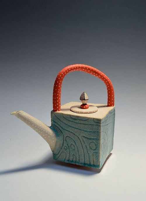 Catalina Ripple Teapot - Eclipse Gallery