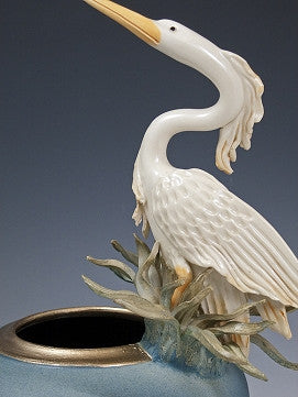 Heron Fern Bowl - Eclipse Gallery