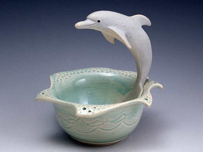 Dolphin Wave Bowl - Eclipse Gallery