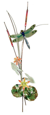 Dragonfly accent sculpture