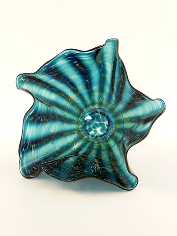 Aquatic Votive Blue/Green