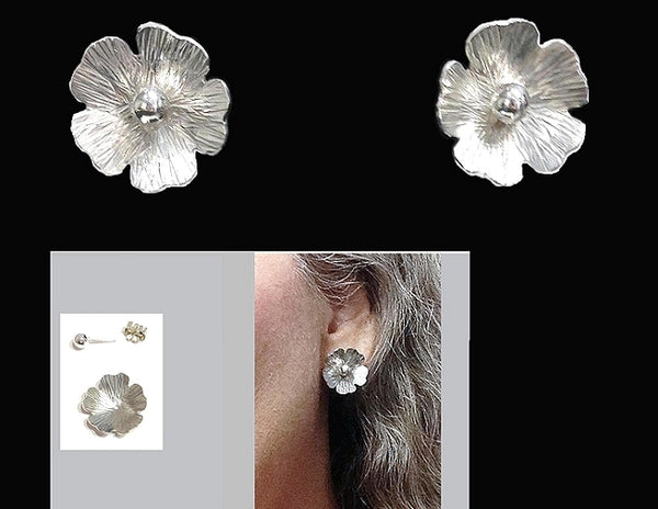 Flower Jackets/Earrings Set